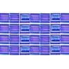 Miyuki Tila Bead 5X5mm 2 Hole Ocean Blue Transparent Aurora Borealis